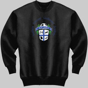 Logo - Jerzees 562-GK Adult 8oz. NuBlend® 50/50 Fleece Crew