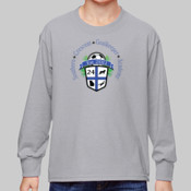 Logo - 4930B-GK Fruit of the Loom Youth 5oz. 100% Heavy Cotton HD™ Long-Sleeve T-Shirt