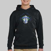 Logo - Jerzees 996Y-GK Youth 8oz. NuBlend® 50/50 Pullover Hood