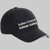 Southern Crescent - BX004 Big Accessories 6-Panel Twill Sandwich Baseball Cap